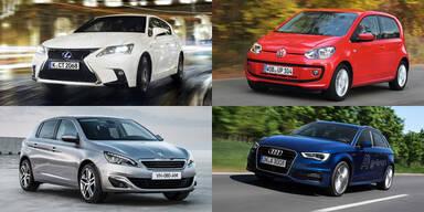 Die saubersten Autos des Jahres