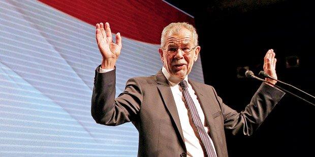 Van der Bellen jetzt fix nächster Bundespräsident