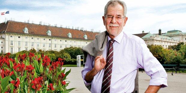 Van der Bellen: Der gut(e) Mensch in der Hofburg
