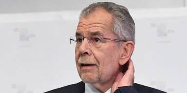 VdB: Absturz nach 100 Tagen Präsident