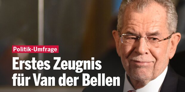 Erstes Zeugnis für Van der Bellen
