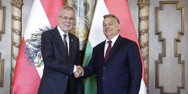 Van der Bellen: Heikler Besuch bei Orban