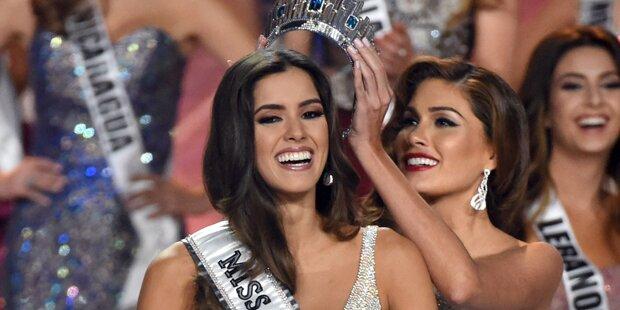 Brutale Rebellen lieben neue Miss Universe