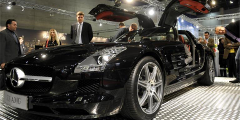 Die Vienna Autoshow 2010 wurde offiziell eröffnet