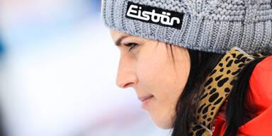 Anna Veith zurück auf Schnee