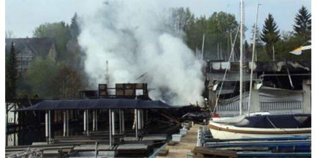Steckdose Auslöser für Brand in Velden