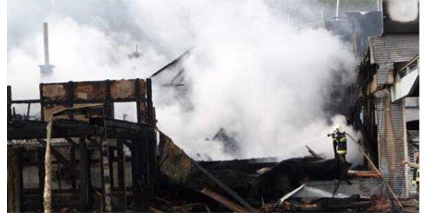 Wertvolle Yachten in Velden verbrannt