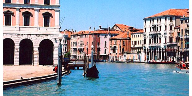 Venedig liegt auf dem Trockenen