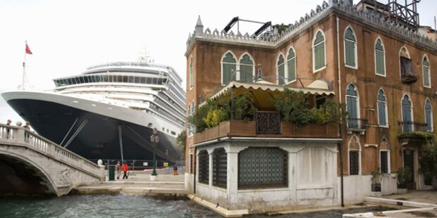 Venedig verbietet Kreuzfahrtschiffe