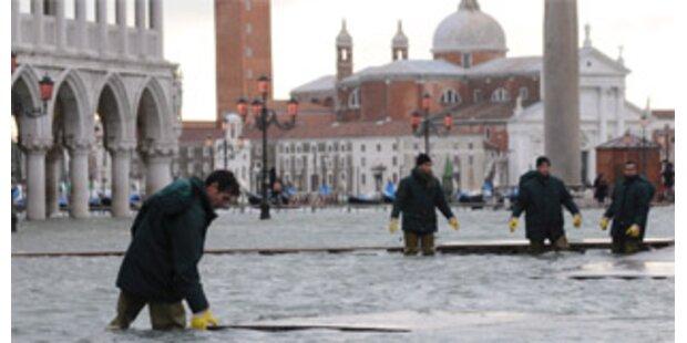 Venedig komplett unter Wasser