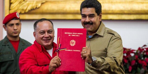 Maduro braucht Parlament nicht mehr