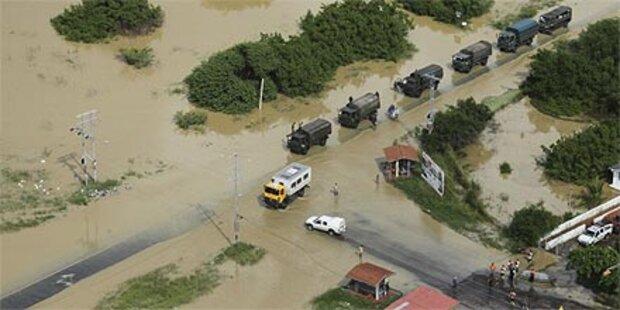 Unwetterkatastrophe in Venezuela und Kolumbien