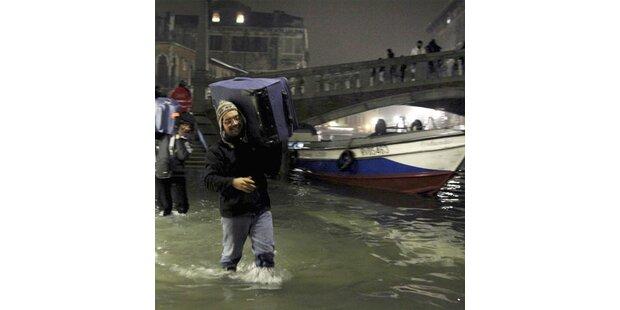 Rekord-Hochwasser in Venedig