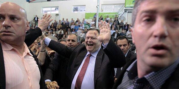 Schicksals-Wahl für Griechenland