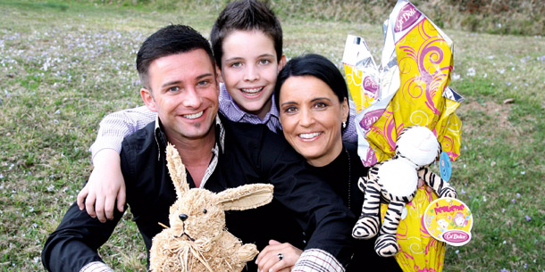 Marco Ventre und Familie