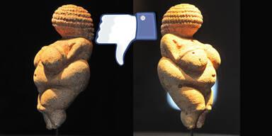 Facebook zensiert Venus von Willendorf