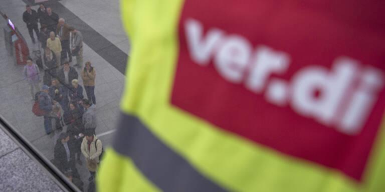 Wieder Streik an Flughäfen in Deutschland