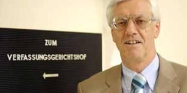 VfGH-Präsident Gerhart Holzinger