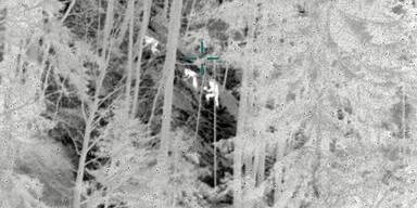 Verirrte Jugendliche mit Infrarotkamera entdeckt