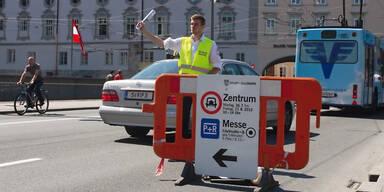 Staumanagement in Salzburg