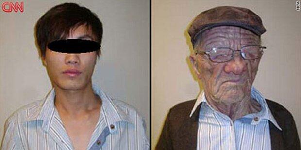 Flucht: Asiate verkleidet sich als Opa