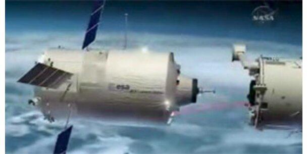 """""""Jules Verne"""" dockt erfolgreich an ISS an"""