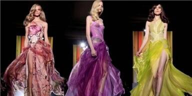 Versace eröffnet die Haute Couture-Schauen