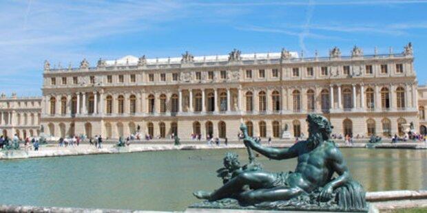 Schloss Versailles wird Luxushotel