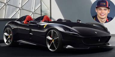 Max Verstappen gönnt sich Ferrari um 1,6 Mio. Euro