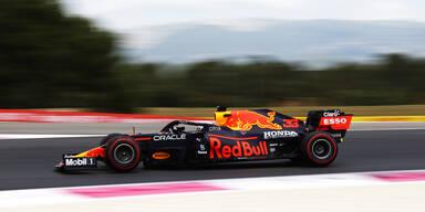 Max Verstappen in Le Castellet Trainingsbester