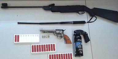 WEGA-Einsatz nach Schüssen mit Gaspistole