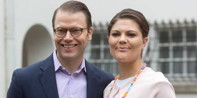 Victoria von Schweden und Mann Daniel