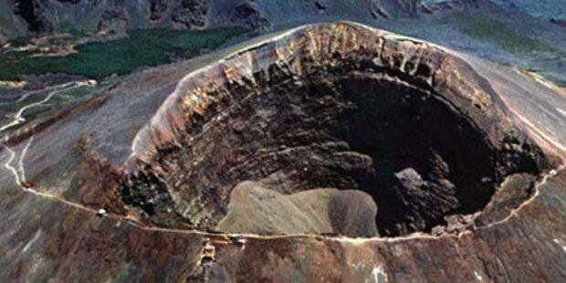 Italien zittert vor Vesuv-Ausbruch