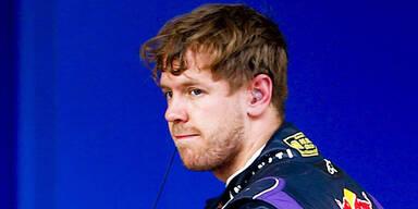 Vettel zu schnell für Brösel-Reifen