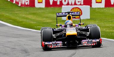 5. Saisonsieg: Vettel in Spa unantastbar