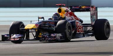 Vettel sichert sich Abu Dhabi-Pole