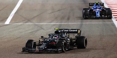 Vettel-Crash bei Aston-Martin-Debüt