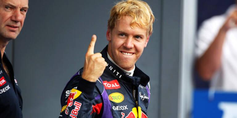 Vettel: Sieg für die Liebe
