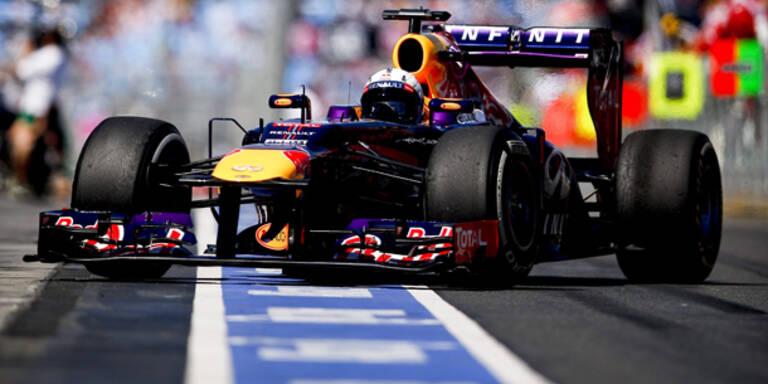 Pole für Weltmeister Vettel in Australien