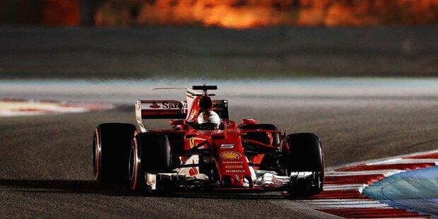Ferrari bremst Mercedes im Rennen aus