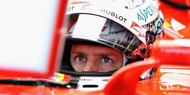 Silverstone: Ferrari mit Geheim-Update