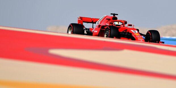 Vettel holt Pole - Verstappen crasht