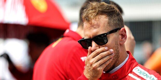 Vettel sauer: 'Ziemlicher Haufen Mist'