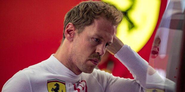 Pannen-Saison: Vettel gibt sich Schulnote 2 minus