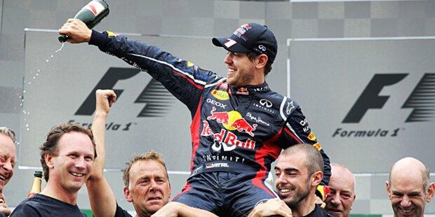 Wirbel um Vettels neuen Vertrag