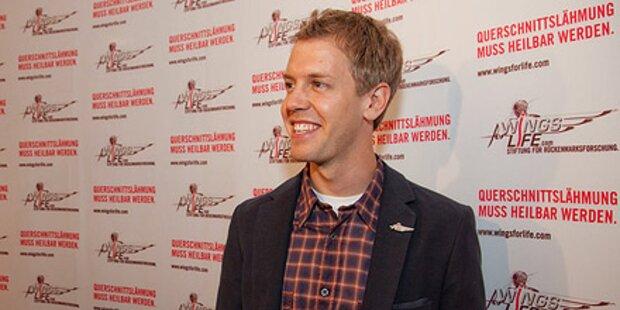 Vettel sammelte im Zillertal 150.000 €