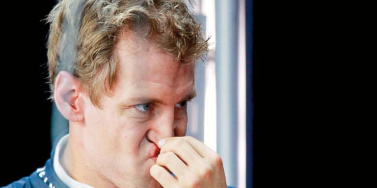 Vettel von Österreicherin genervt