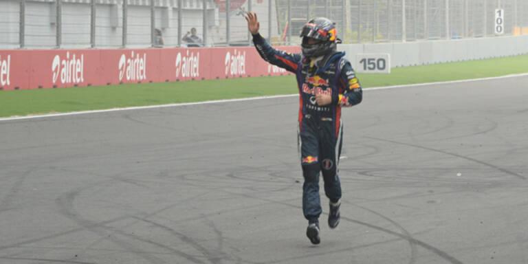 Vettel ist zum 4. Mal Formel 1-Weltmeister