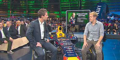 Vettel zu Gast in Salzburg