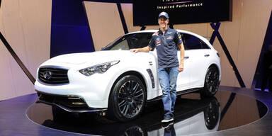 Spezial-Infiniti FX für Sebastian Vettel